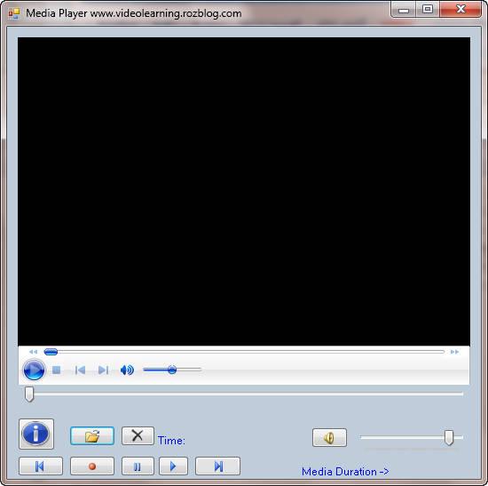 سورس برنامه Media Player به زبان های سی شارپ و VB.NET